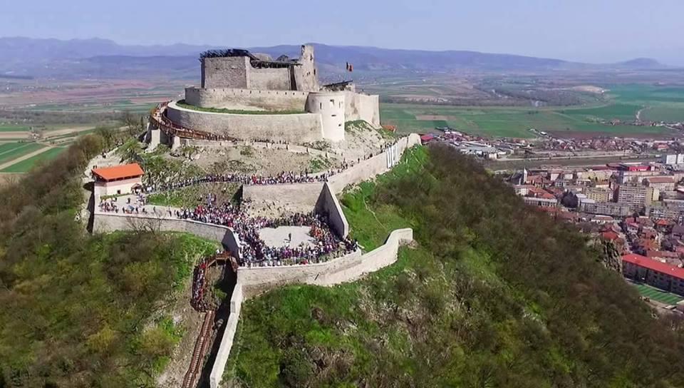 Cetatea Deva, fortul necucerit de pe malul Mureșului