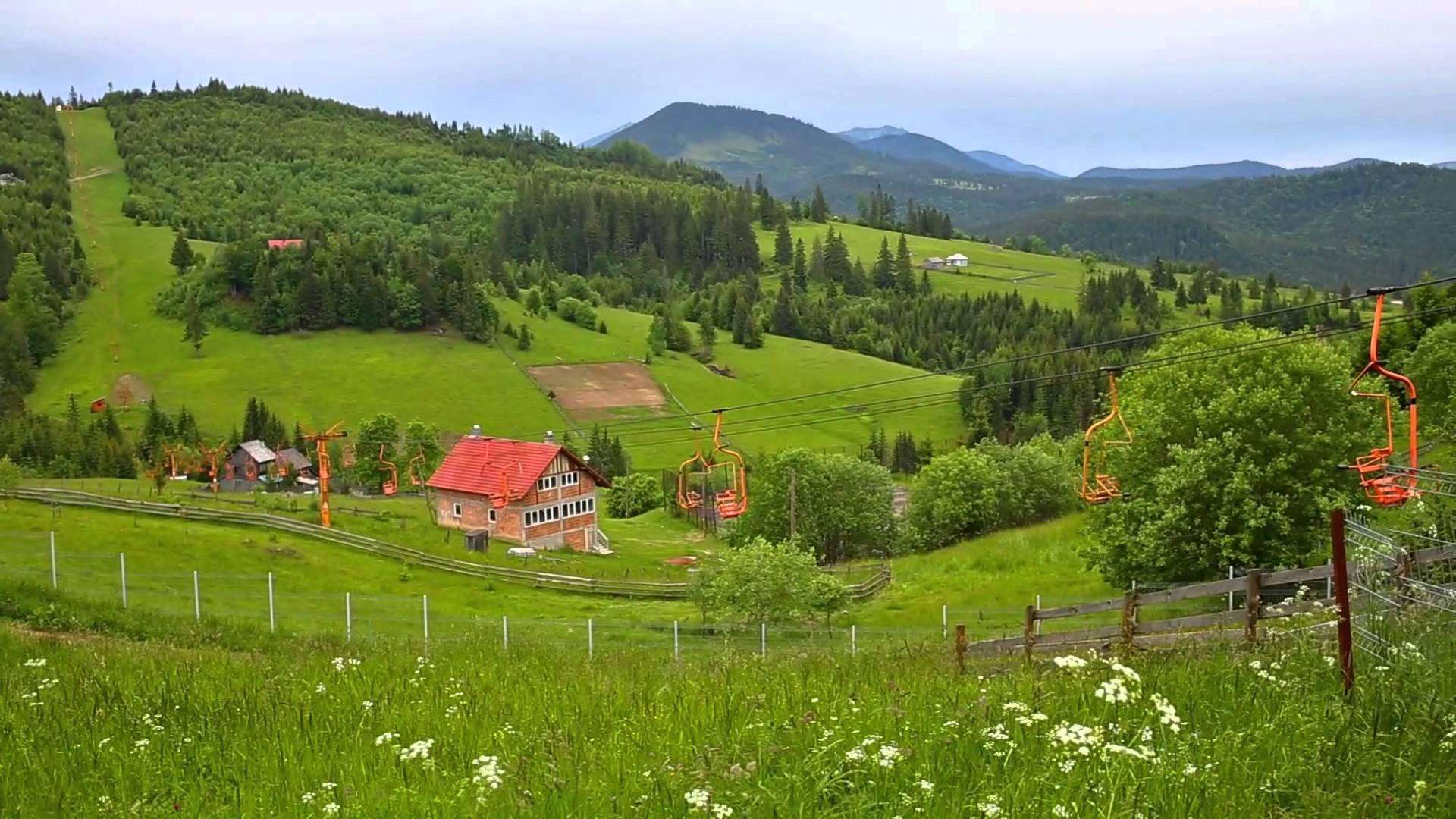 Pasul Tihuța, la granița dintre Transilvania și Moldova